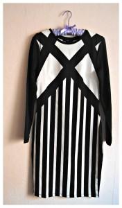 Robe noir H&m
