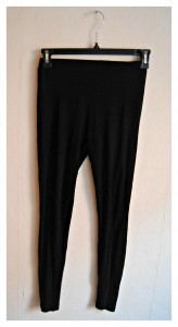 leggings noir etam