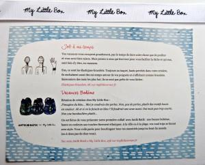 Etiquette sac et élastique