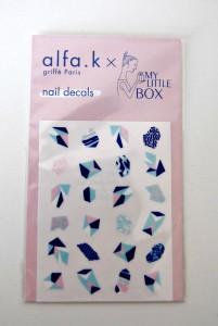 nail decals alfa K