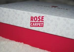 Logo rose carpet