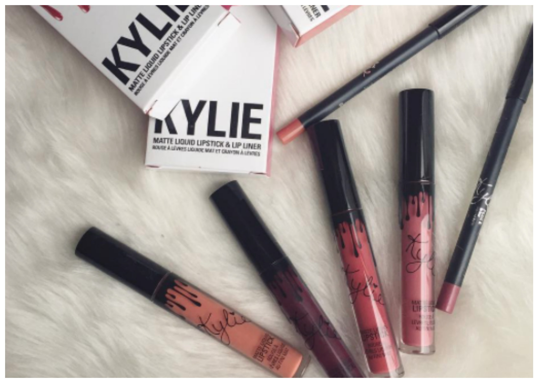 """Les rouges à lèvres """"lip kit"""" by Kylie Cosmetics"""
